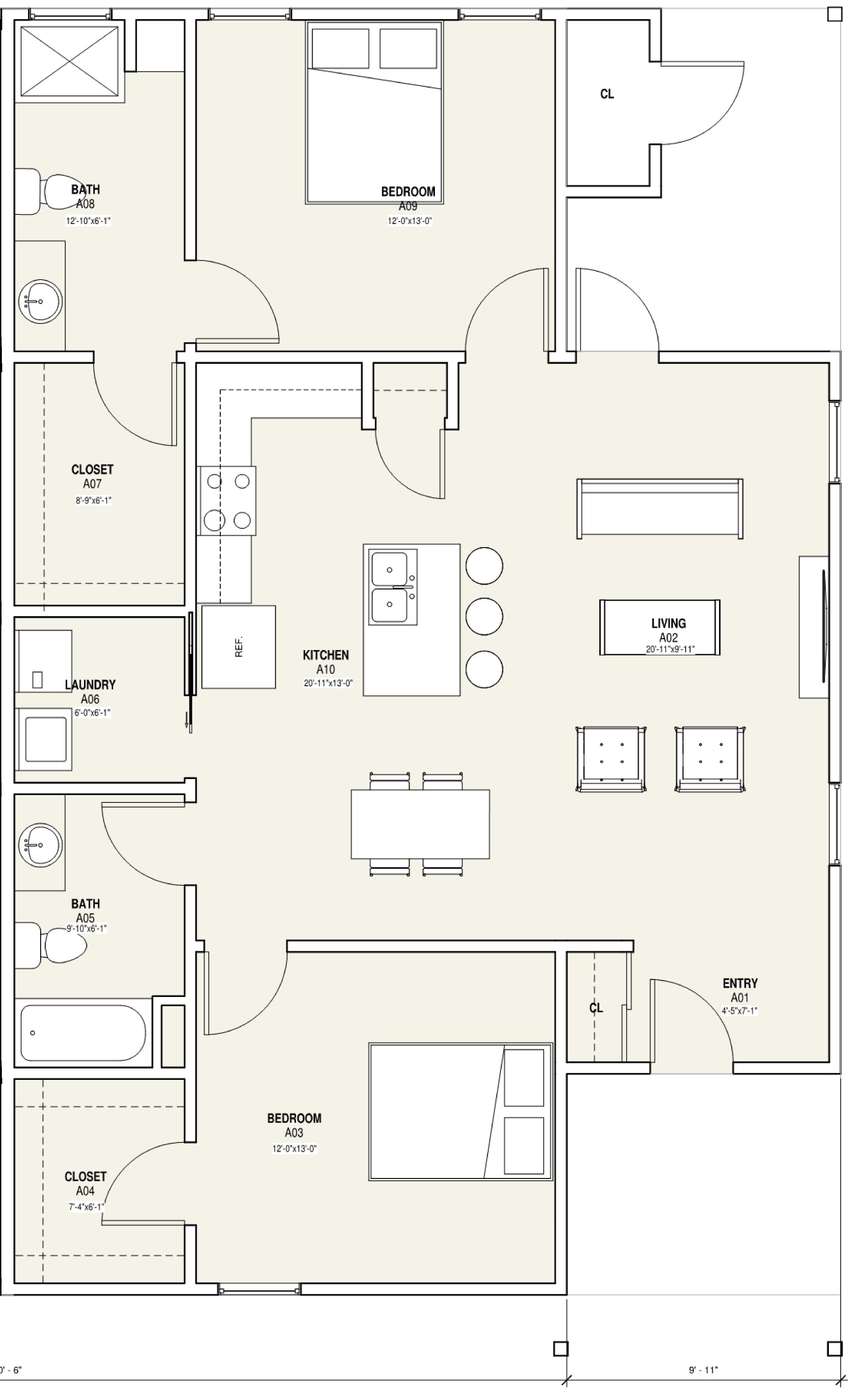 Floor Plan  sc 1 st  Gateway 26 Doors & Gateway 26 Doors - Floor Plan